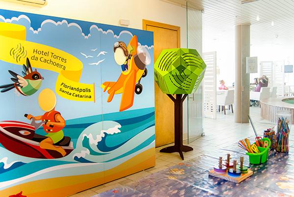 Espaço Kids Hotel Torres da Cachoeira