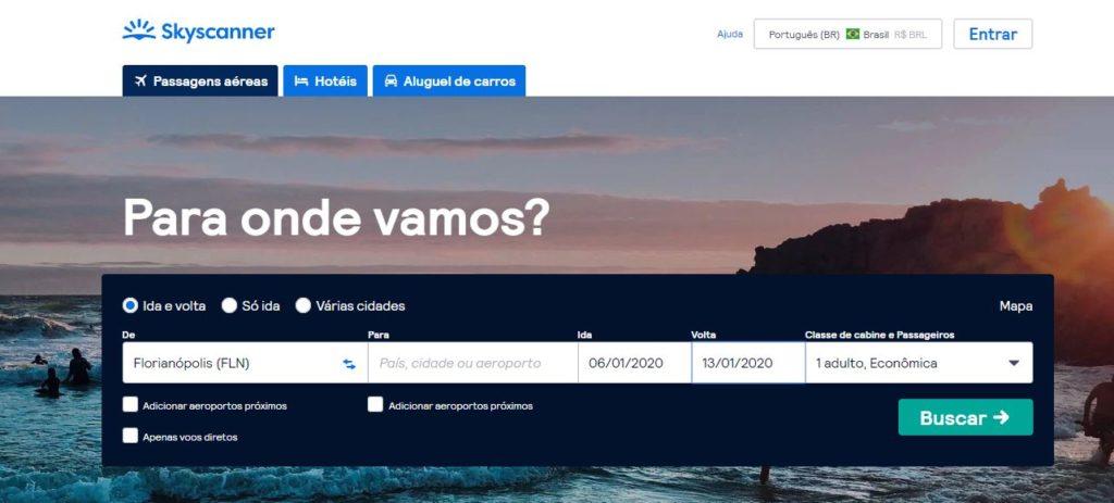 aplicativo de viagem florianopolis hotel torres da cachoeira skyscanner