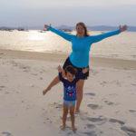 Dani Jacinto, a mãe de mochileirinho no Torres da Cachoeira