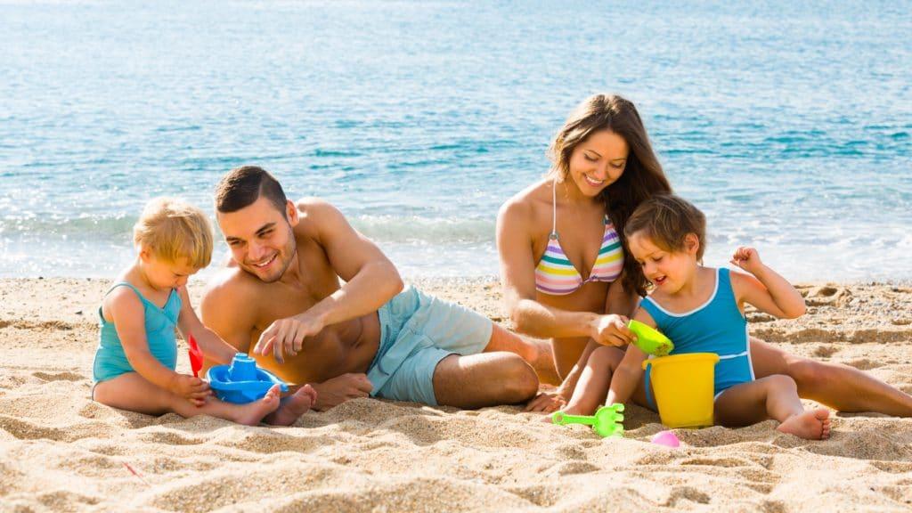 viajar com crianças familia praia florianopolis