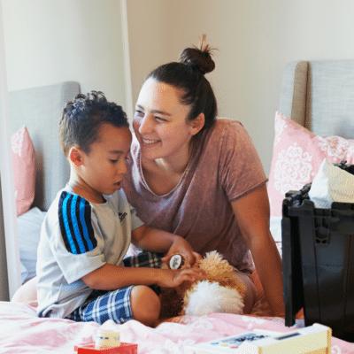 5 Brincadeiras para fazer com as crianças em casa